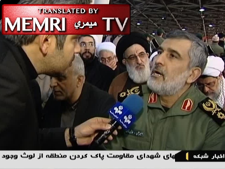 General Amir Ali Hajizadeh, Commander of IRGC Aerospace Force: Killing President Trump and His Defense Secretary, Attacking Every U.S. Base Would Not Be Enough to Avenge Soleimani's Blood